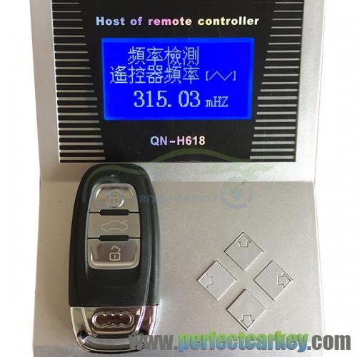 315Mhz 8T0959754C audi A4 S4 A5 S5 RS5 Q5 Quattro smart key
