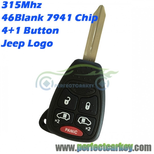 M3N5WY72XX OHT692427AA For Jeep Renegade Compass Patriot Wrangler Grand Cherokee auto control 315Mhz 46chip remote head key