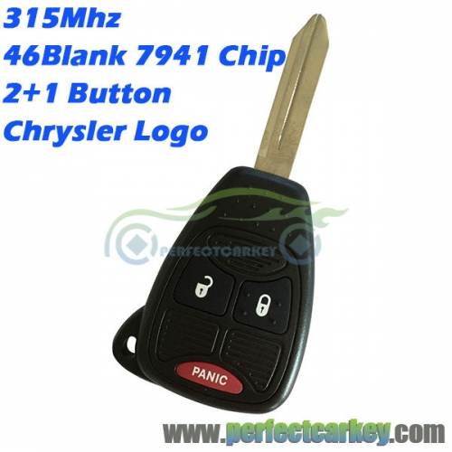 M3N5WY72XX OHT692427AA 315Mhz 46Electric 7941chip auto remote head key for Chrysler 300C PT Pacifica grand voyager Sebring key