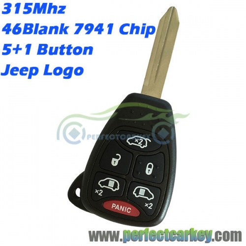 M3N5WY72XX OHT692427AA For Jeep Renegade Compass Patriot Wrangler Grand Cherokee auto remote head key car control 315Mhz 46chip