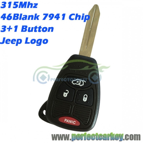 M3N5WY72XX OHT692427AA For Jeep Renegade Compass Patriot Wrangler Grand Cherokee remote head key 315Mhz 46chip car control