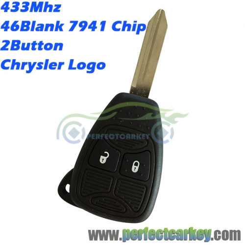 05179516AA 433mhz 46Electric 7941chip remote head key for Chrysler 300C PT Pacifica grand voyager Sebring auto remote contaol