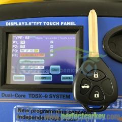 433Mhz 434Mhz G/4D67 transponder chip Toy43 key blade car key control auto  remote head key for Toyota Camry Mark X REIZ