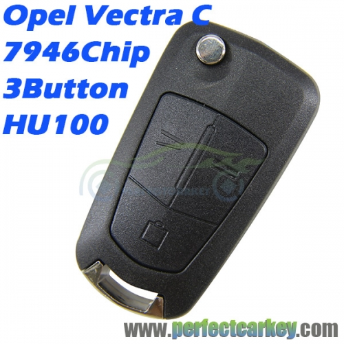 Opel Vectra C 2003-2008 434Mhz 7946 3Button flip key