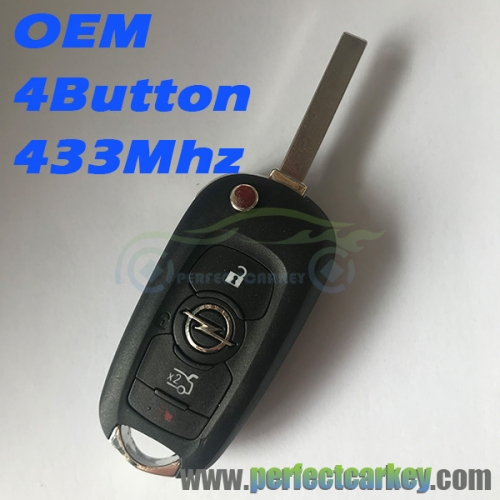 Opel 4Button 433Mhz OEM key