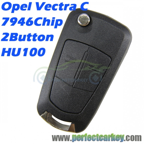 Opel Vectra C 2003-2008 434Mhz 7946 2Button flip key