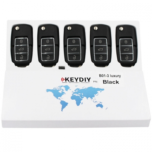 B01-3 Luxury Black Universal B-Series Remote Control for KD900 +URG200 3 Button Key Luxury Style