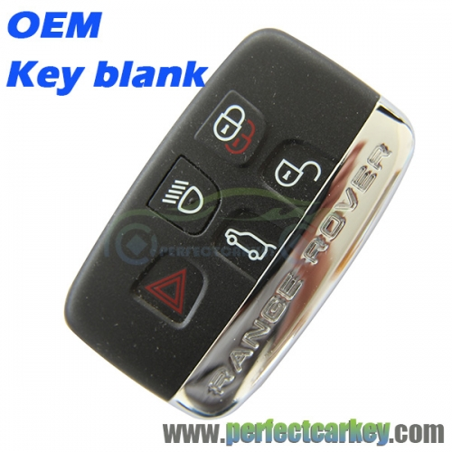 Key blank key shell for Range Rover Evoque Discovery smart key