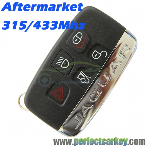 315Mhz 434Mhz 5button keyless entry smart card smart key for Jaguar XE Xj Xjl Xf