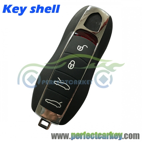 Porsche 4button key shell