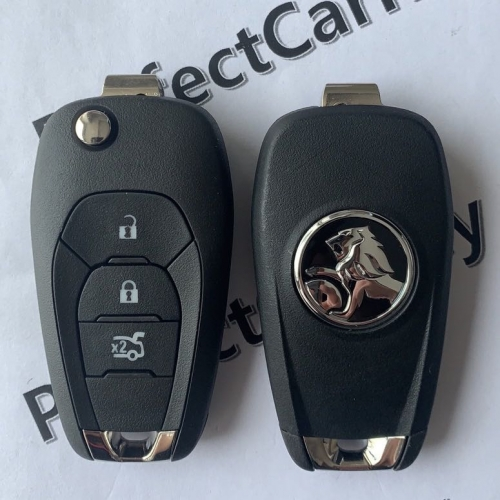 Holden 433Mhz 2+1button(trunk) 2015+ flip key