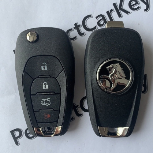 Holden 433Mhz 3+1button(trunk) 2015+ flip key